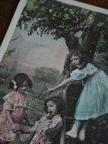 Sur le cerisier