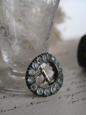 画像1: Boucle de ceinture Pate de verre