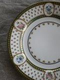 Assiette Porcelain Petites fleurs
