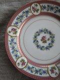 Assiette Porcelain Roses/fleurs bleues