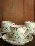 Demi-tasse Porcelain de paris fleurs