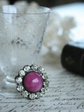 "Broche ""Rond/rose"""
